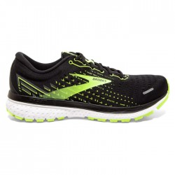 Zapatillas Brooks Ghost 13 Negro Amarillo