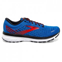 Zapatillas Brooks Ghost 13 Azul Rojo