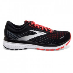 Zapatillas Brooks Ghost 13 Mujer Negro Coral