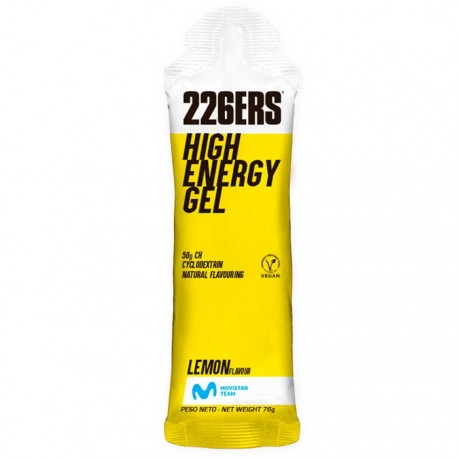 Gel energético 226ERS High Energy Limón 60ml
