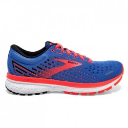 Zapatillas Brooks Ghost 13 Mujer Azul Coral