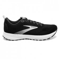Zapatillas Brooks Revel 4 Negro Blanco