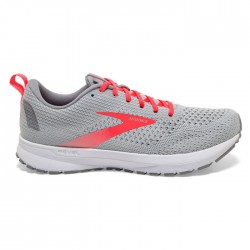 Zapatillas Brooks Revel 4 Mujer Gris