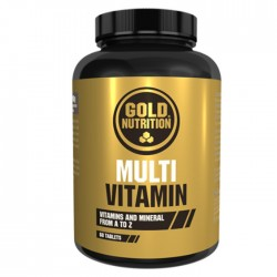 Multi Vitaminas Gold Nutrition 60 caps.