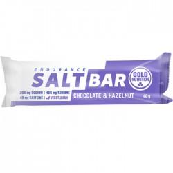 Barritas Endurance Salt Bar Choco y Avellana Gold Nutrition