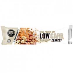 Barrita Protein Bar Lowcarb Crunchy cacahuete dulce Gold Nutrition