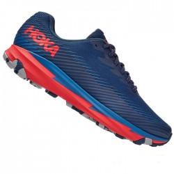 Zapatillas Hoka Torrent 2 Azul Rojo