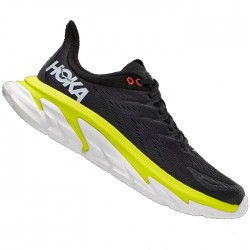 Zapatillas Hoka Clifton Edge Negro Amarillo