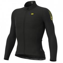 Maillot ciclismo Alé R-EV1 Clima Protection Warm Race Negro