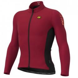 Maillot ciclismo Alé R-EV1 Clima Protection Warm Race Rojo
