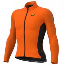Maillot ciclismo Alé R-EV1 Clima Protection Warm Race Naranja