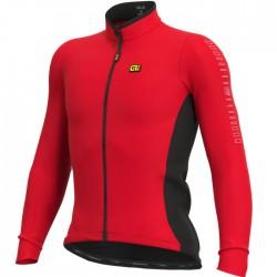 Maillot ciclismo Alé Solid Fondo Rojo
