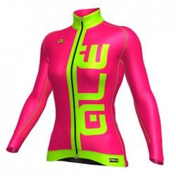 Maillot ciclismo mujer PRR Arcobaleno Rosa