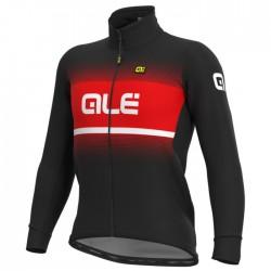 Chaqueta ciclismo Alé Solid Blend Rojo