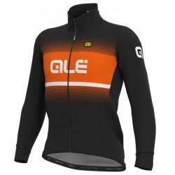 Chaqueta ciclismo Alé Solid Blend Naranja