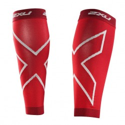 PERNERA COMPRESIVA ROJO 2XU CALF SLEEVES