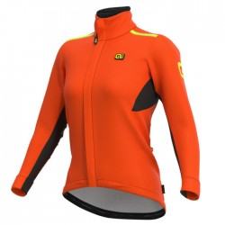 Chaqueta ciclismo Alé Mujer Klimatik Tornado Naranja