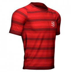 Camiseta Compressport Performance SS Red