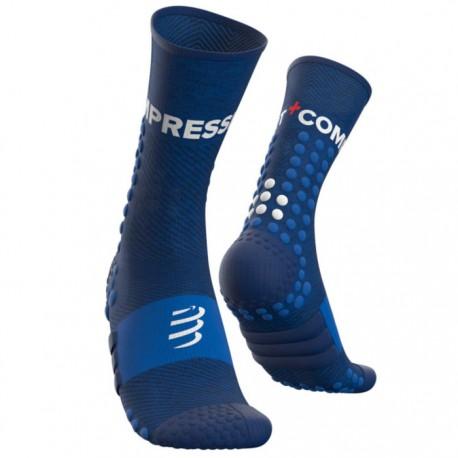 Calcetines Compressport Ultra Trail Socks Azul
