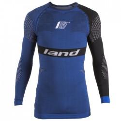 Camiseta Land Apolo Azul Negro