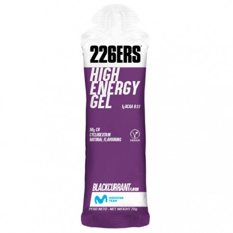 Gel energético 226ERS High Energy Blackcurrant 60ml