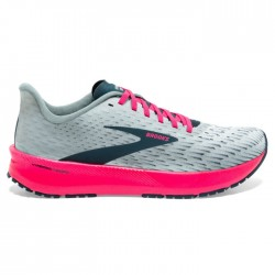 Zapatillas Brooks Hyperion Tempo Mujer Gris Rosa