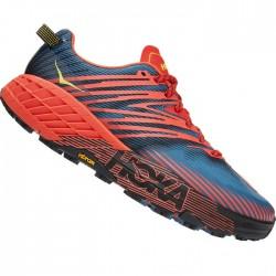 Zapatillas Hoka Speedgoat 4 Rojo Azul