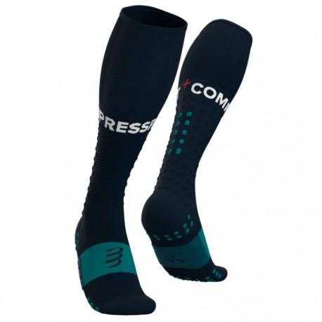 Calcetines Compressport Full Socks Run Azul
