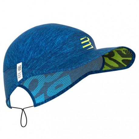 Gorra Compressport Pro Racing Cap Azul