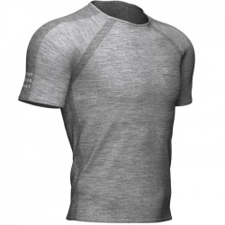 Camiseta Compressport Training Gris