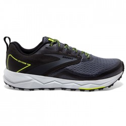 Zapatillas Brooks Divide 2 Negro Amarillo