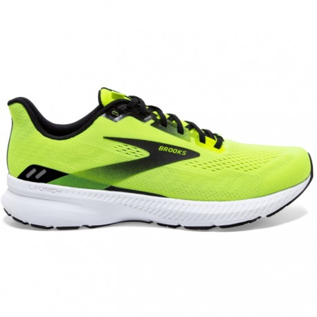 Zapatillas Brooks Launch 8 Amarillo