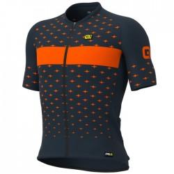 Maillot ciclismo Alé corto PRR Stars Azul Naranja