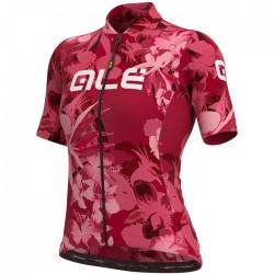 Maillot ciclismo Mujer Ale corto Solid Bouquet Rosa