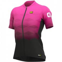 Maillot ciclismo Mujer Ale corto PRR Magnitude Rosa SM