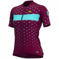 Maillot ciclismo Mujer Ale corto PRR Stars Bourdeos