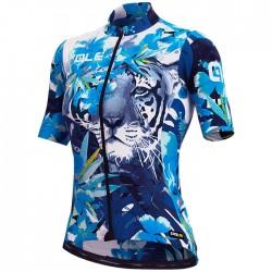 Maillot ciclismo Mujer Ale corto PRR Tiger Azul