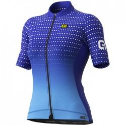 Maillot ciclismo Mujer Ale corto PRS Bullet Azul