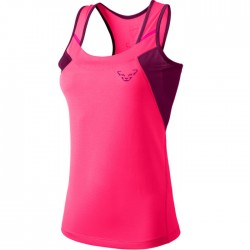 Camiseta Dynafit Vertical Mujer Tirantes Rosa