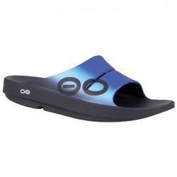 Sandalia Recovery OOFOS SPORT WAVE Azul