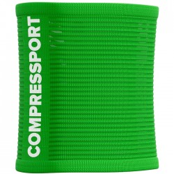 Muñequera COMPRESSPORT Sweat 3D.Dots SUMMER REFRESH 2021 Verde