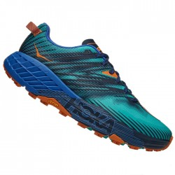 Zapatillas Hoka Speedgoat 4 Verde Azul