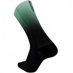 Calcetines Ciclismo MONOLON degradado Verde Negro