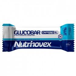 Barrita energética Glucobar Blue Tropic 95mg Cafeína Nutrinovex