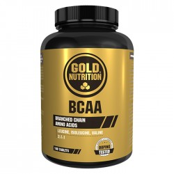 BCAA'S 60 Caps Gold Nutrition