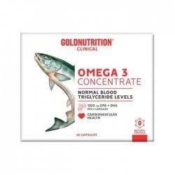 Omega 3 Concentrado 60 Caps Gold Nutrition
