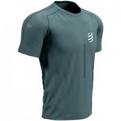 Camiseta Compressport Performance SS Verde Pino