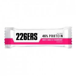 Barrita proteinas 226ers 46% Choco Blanco Fresa