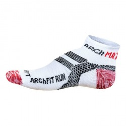 CALCETINES ARCH MAX ARCHFIT RUN LOW CUT BLANCO