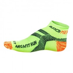 CALCETINES ARCH MAX ARCHFIT RUN LOW CUT AMARILLO FLUOR